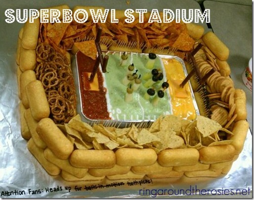 superbowl stadium party appetizer food