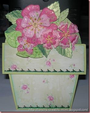 cart pot de fleurs
