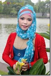 model hijab terbrau liana9