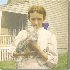 Josephine and kitten