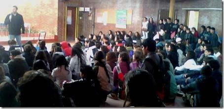 Jornada de Salud Sexual Integral en Escuela Nº204 de San Bernardo
