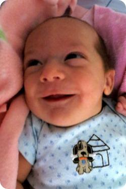Nehemiah's First Smiles