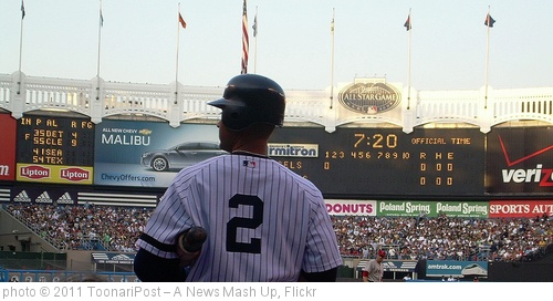 'Derek Jeter - On Deck' photo (c) 2011, ToonariPost – A News Mash Up - license: http://creativecommons.org/licenses/by-sa/2.0/