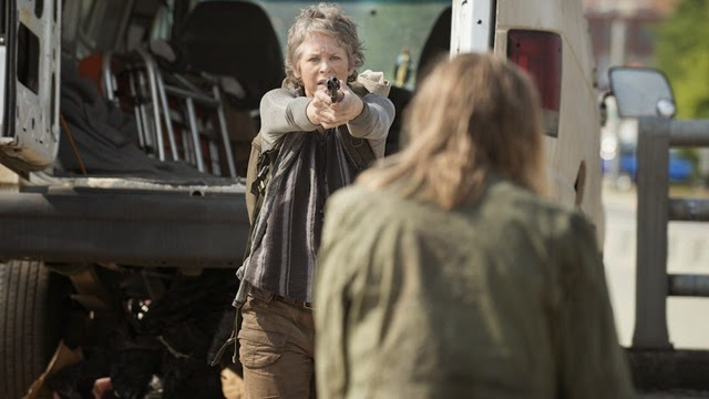 Melissa McBride as Carol Peletier - The Walking Dead _ Season 5, Episode 6 - Photo Credit: Gene Page/AMC
