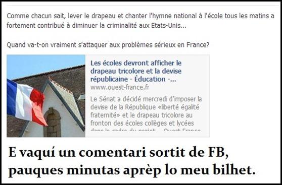 Nacionalisme francés un comentari