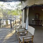 Mkulumadzi Lodge, Terrasse des Zeltchalets © Foto: René Schmidt | Outback Africa Erlebnisreisen