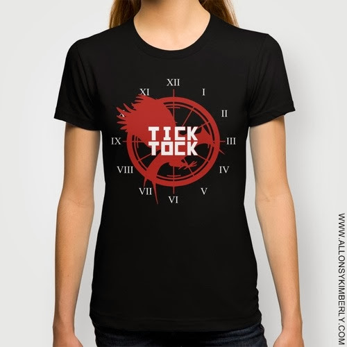 Catching Fire Tick Tock T-Shirt | allonsykimberly.com