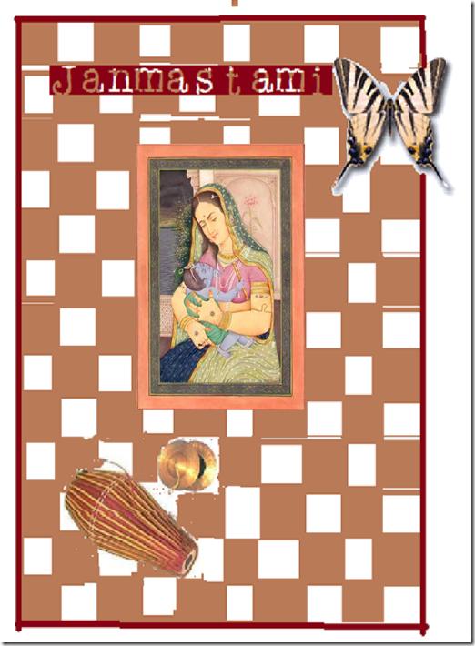 Scrapkaart maken Janmastami