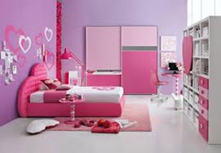 Kids bed room interior decorations