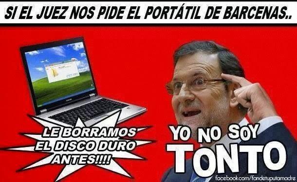 Rajoy Barcenas