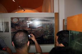 Museu Arqueològic de la Ciutat de Dénia. Contenidos islámicos. Exposición Celler: cerámicas en verde y manganeso y otros objetos andalusíes.