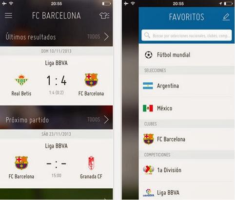 Aplicación oficial de la FIFA para iOS