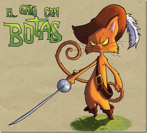 El Gato con Botas,El gato maestro,Cagliuso, Charles Perrault,Master Cat, The Booted Cat,Le Maître Chat, ou Le Chat Botté (149)
