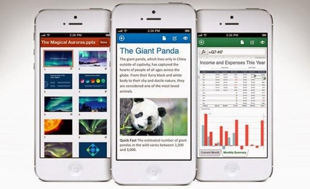Novedades de Microsoft Office Mobile para iOS y Android
