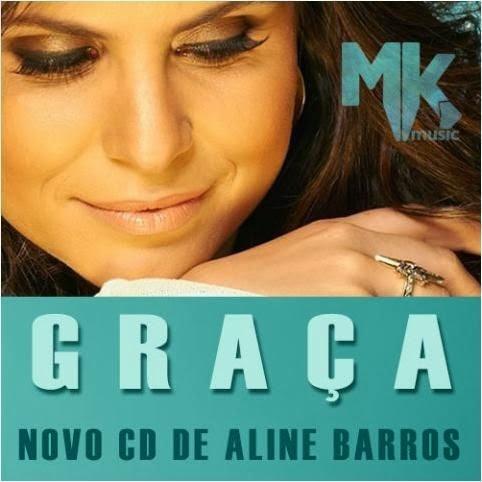 Capa do CD Aline Barros - Graça 2013