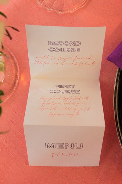 Hello Darling   Courtney Callahan Paper at Martha Stewart Wedding Party, accordian menu