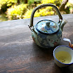 Tea at Japanese Tea Garden in San Fran