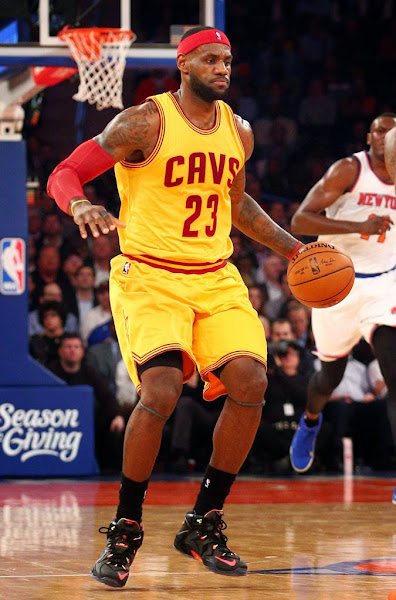 James Debuts 8220Data8221 Nike LeBron 12 at MSG
