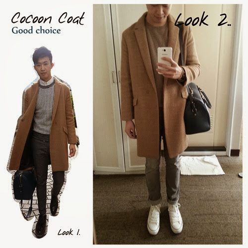 Weis life - date - cocoon coat