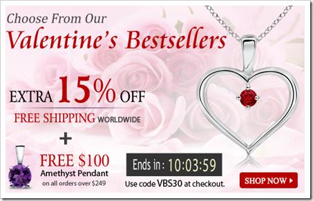 Valentine's Bestsellers