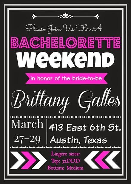 Bacehlorette party front