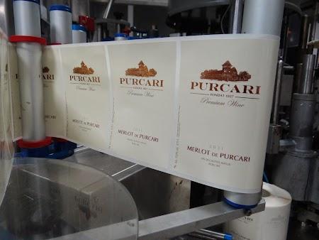 Etichete Purcari