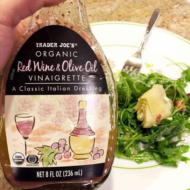 Trader Joe's Organic Red WIne Olive Oil Vinaigrette