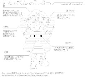 [AA]まんべくんのひみつ (ゆるキャラ)