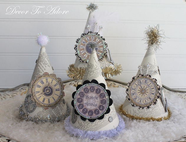 parisian party hats 127-001