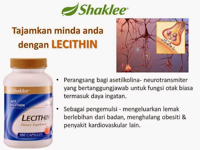 lecithin untuk minda