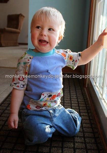 raglan shirt toddler