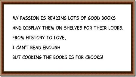 I LOVE READING .....