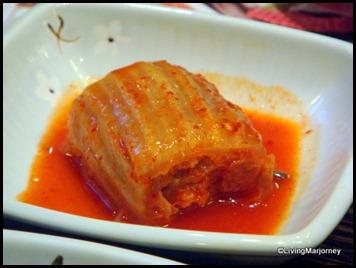 kimchi at Bulgogi Brothers