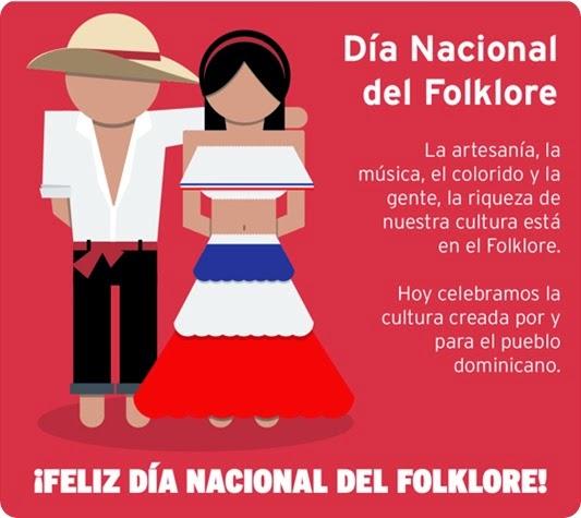 folklore día dominicano