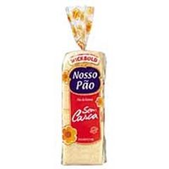 Pão de forma sem casca Nosso Pão G