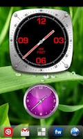Screenshot of Analog Clock Widget Pack