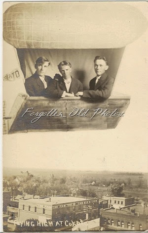Mystery Two Postcard AZO Triangles up DL Flea Market