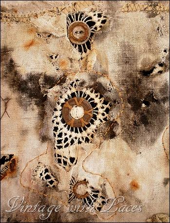 Artquilt Detail