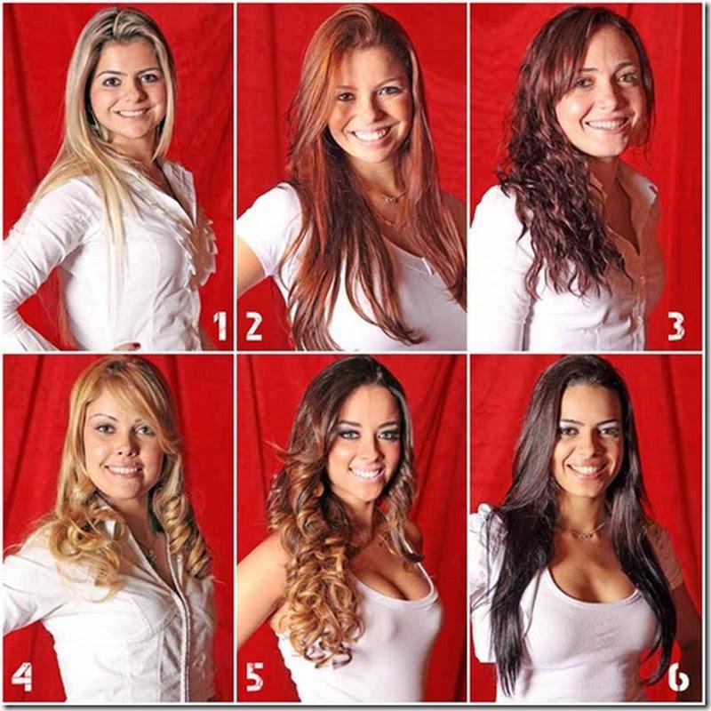 Candidatas a Rainha do Rodeio 2011