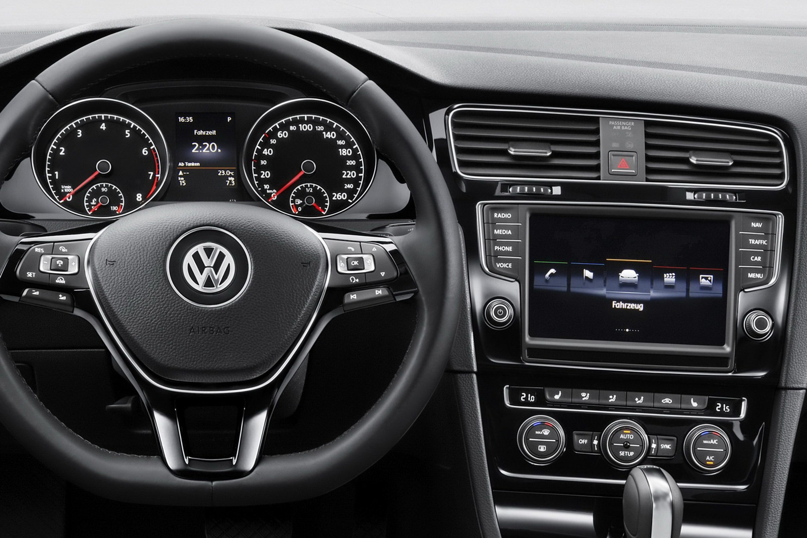 Car Of The Future - 2013 Volkswagen Golf 7 Introduced in ...