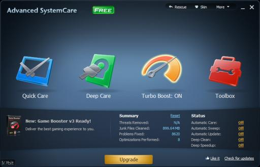 Descargar Advanced Systemcare gratis