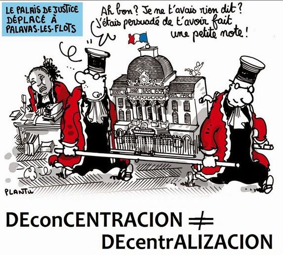 deconcentracion decentralizacion