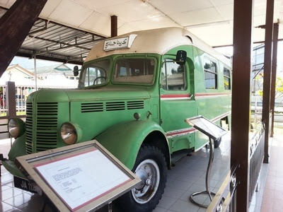 kereta jenazah muzium Perak