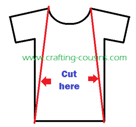 tee shirt cut