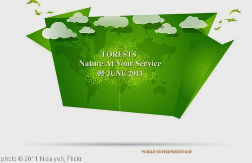 'Happy World Environment Day' photo (c) 2011, Nisa yeh - license: https://creativecommons.org/licenses/by-sa/2.0/