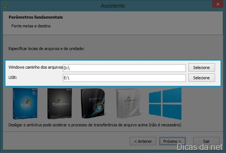 programa para instalar sistema operacional pelo usb