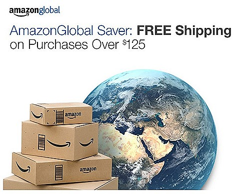AMAZON FREE SHIPPING OFFERS SINGAPORE INDIA AMAZONGLOBAL SAVER INTERNATIONAL DELIVERY V-POST Comgetway Borderlinx Shopping Cart check out, delivery single address selection group items software downloads, music gift card,