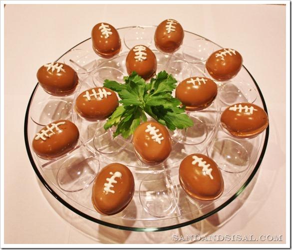 Super Bowl de futebol Ovos
