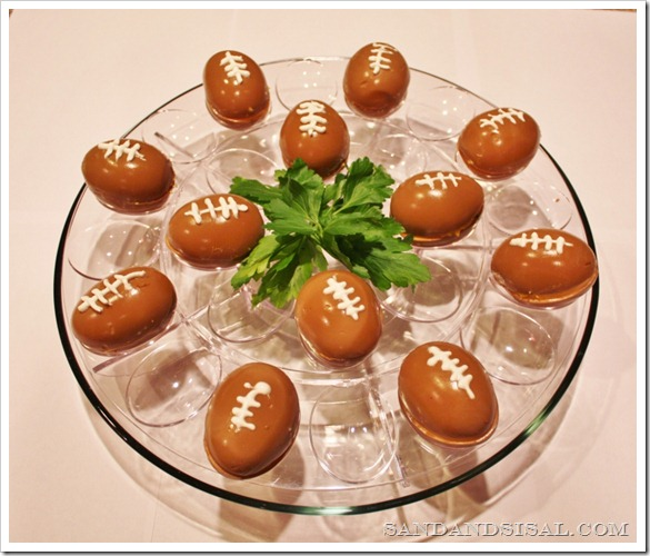 Super Bowl Football Eggs