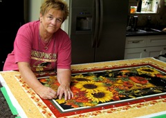 Barb Pins Our Fall Cuddle Quilts